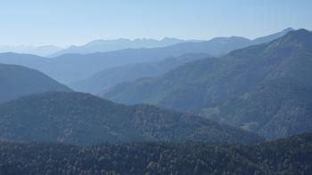 Herbststimmung auf dem Weg zur Rotwandhütte